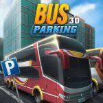 Aparcamiento de autobuses 3D
