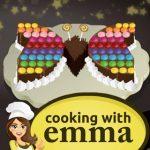 Pastel de chocolate con mariposas – Cocinando con Emma