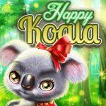 Koala feliz