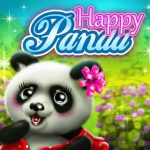 Panda feliz