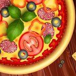 Juegos de cocinar y hornear pizza para niños
