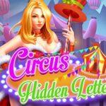 Letras ocultas de circo