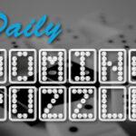 Rompecabezas diario de dominó