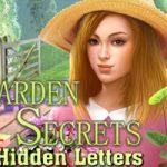 Garden Secrets Letras ocultas