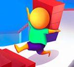 Corriendo por la escalera