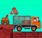 Carga los camiones